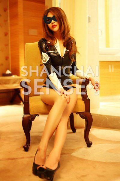 A Shanghai native girl who love leather